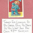 1987 Topps Garbage Pail Kids Series 9 Trap Dora # 375a