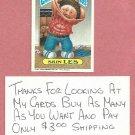 1987 Topps Garbage Pail Kids Series 9 Skin Les # 346b