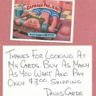 1987 Topps Garbage Pail Kids Series 9 Half Baked Betty # 340a