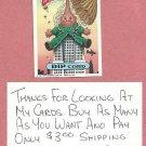 1987 Topps Garbage Pail Kids Series 9 Rip Cord # 344b