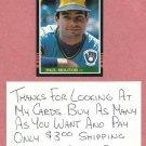 1985 Donruss Paul Moliter Milwaukee Brewers # 359