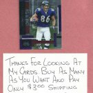2003 Playoff Absolute Memorabilia Todd Heap Baltimore Ravens # 3