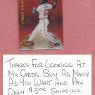 1994 Sportflics 2000 Fred McGriff Atlanta Braves # 185 Oddball