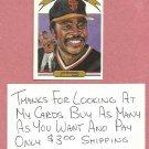 1982 Donruss Diamond Kings Joe Morgan San Francisco Giants # 24