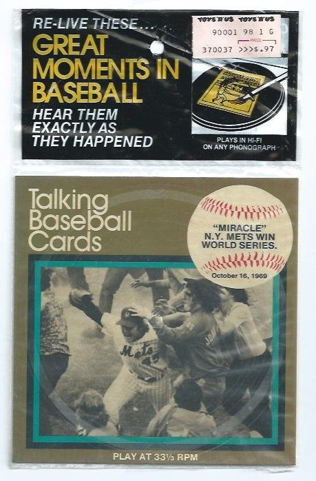 1989 CMC Talking Baseball Cards 1969 Miracle Mets World Series # 11