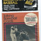 1989 CMC Talking Baseball Cards Reggie Jackson 1977 World Series 3 Home Runs New York Yankees # 8