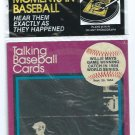1989 CMC Talking Baseball Cards Willie Mays 1954 World Series Catch Giants # 9