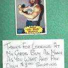 1985 Topps WWF Wrestling Card Jesse The Body Ventura # 11 WWE