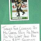 1991 92 Topps Jaromir Jagr Rookie Pittsburgh Penguins # 9