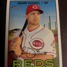 2016 Topps Heritage Adam Duvall Cincinnati Reds # 656 High Number