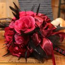 LOT OF HANDMADE ROSES - CUSTOM TO YOUR WEDDING COLORS