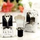 "Bride & Groom ""I Do!"" ""I Do!"" Bottle Stoppers Wedding"