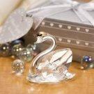 Choice Crystal by Fashioncraft Swan Wedding Favor