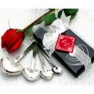 Heart Shaped Measuring Spoons Wedding Favor