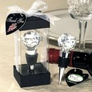 Crystal Ball Wine Stopper Wedding Favor