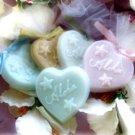 Beach Theme Aloha Soap Wedding Favor PINK