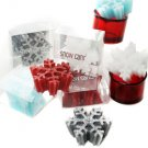 SET OF 4 Snowflakes Candle Wedding Favor Chrsitmas Gift