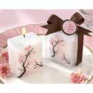 """Cherry Blossom Elegance"" Mini Candle (set of 4)"
