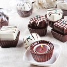 Wedding Chocolate Candle Favors (Set of 4)