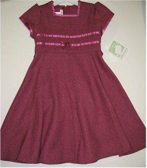 size 5 rose pink short sleeve dress