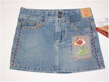 4T decorative denim skirt