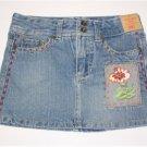 size 6 decorative denim skirt