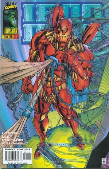 Iron Man (Vol. 2) from 1996 complete 13 issues.