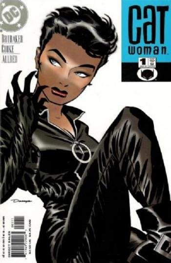 Catwoman #1 by Brubaker and Cooke