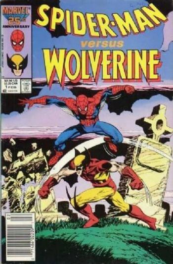 Spider-Man Versus Wolverine #1 (1987)