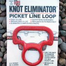 Picket Line Loop Knot Eliminator Horse Mule Camping Tack Replaces Dutchman Knot Made in USA