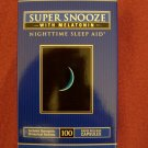 Vitamin World Super Snooze with Melotonin 100 Capsules