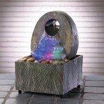 35597 Rainbow Colored Rock Fountain