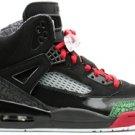 Air Jordan Spizike Black/Varsity Red-Classic Green