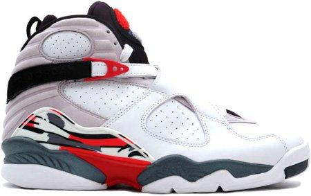 Nike Air Jordan 8 (VIII) Retro White / Black � True Red