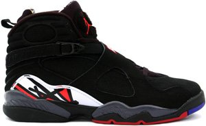 Nike Air Jordan Retro 8 (VIII) Black / Varsity Red � White Playoffs