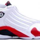 Nike Air Jordan 14 (XIV) Retro White / Black – Varsity Red