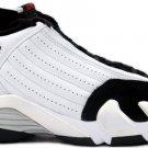 Nike Air Jordan 14 (XIV) Retro White / Black – Varsity Red – Metallic Silver