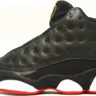 Nike Air Jordan (XIII) Playoff Black / True Red – White