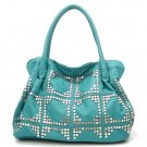 UE Adalie Studded Tote Handbag Purse, Turquoise