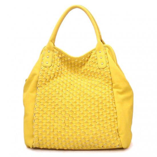 UE Adalyn Hobo Handbag Purse, Yellow