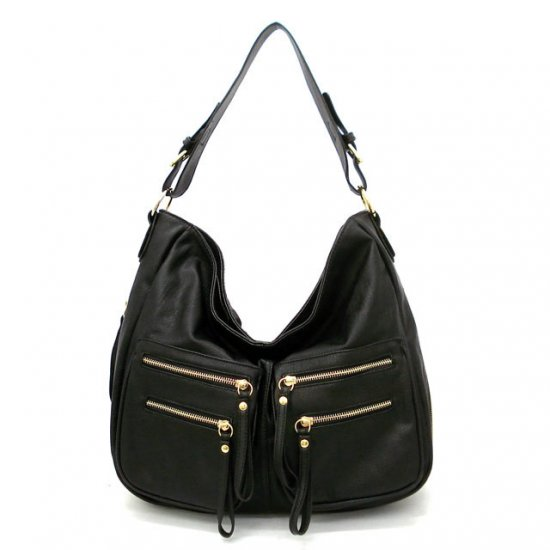 UE Addie Hobo Handbag Purse, Black