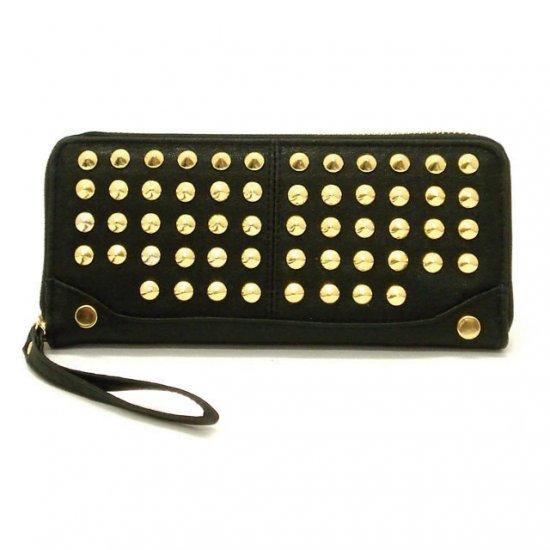 Adalicia Studded Women's Wallet, Black