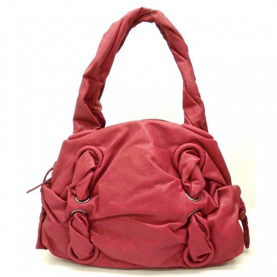Urban Expressions Marvel Twisted Handles Handbag Purse, Berry