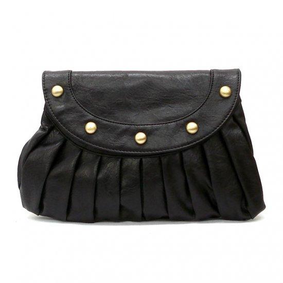 Clare Clutch Handbag, Black