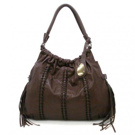 Urban Expressions Clarette Hobo Handbag Purse, Brown
