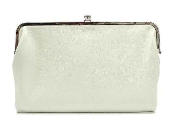 Urban Expressions Clarinda Clutch Handbag, White