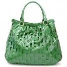 Mathilde Hobo Handbag Purse, Green