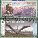 Antarctica $5 Dollar Bill Foreign Paper Money