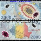 Romania 2,000 Lei Polymer Foreign Paper Money