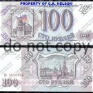 Russia 100 Rubles Foreign Paper Money Banknote